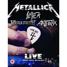 """THE BIG FOUR """"LIVE FROM..."""" 2 DVD METALLICA SLAYER NEU"""