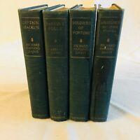 Richard Harding Davis 1916 Scribner's  - 4 Volumes - Hardcover Book Set