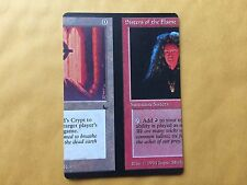 50/50 Miscut Tormod's Crypt / Sisters of the Flame Misprint MTG Magic GENUINE