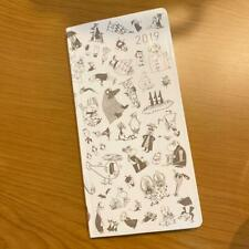 Hobonichi Techo Moomin Valley 2019 Planner Notebook For Weeks Rare From Japan