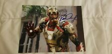 Spectacular Robert Downey Jr as Ironman Signed 8x10 Photo with COA