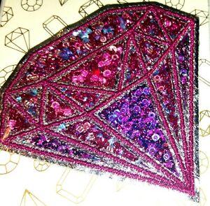 LOT OF 4 LAPYRUS STICKY PATCH GLASS BEADS DIAMOND STICK ON THINGS PURSE CARDS