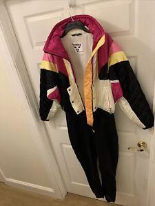 "TYROLIA by HEAD Vintage 80's 90s Winter clothing Ski Snow Suit 34""waist 35"" Seam"