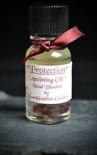 Protection Anointing Oil Altar witches Wicca Pagan witchcraft Garnet