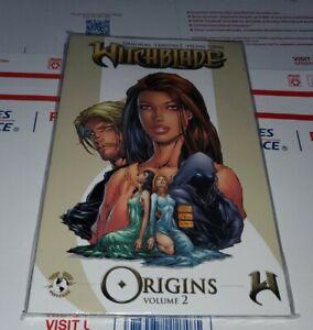 Witchblade ORIGINS VOL 2 TURNER VARIANT NM Novel TPB Top Cow IMAGE RARE OPP
