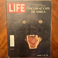 LIFE Magazine January 6 1967 ~ Great Cats of Africa ~ Nick the Great ~ Ads (4)