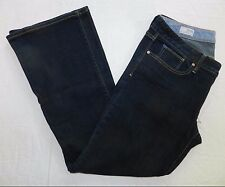 WOMENS JEANS = GAP 1969 curvy flare leg = SIZE 31/12a = KN29
