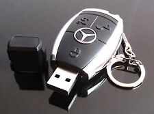 Car Key 32GB USB 2.0 Flash Drive Memory Stick S
