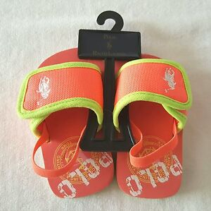 Brand New With Tag Genuine Polo Ralph Lauren Baby Girls Summer Sandal