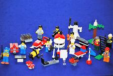 Lego® 7724 City Inhalt Adventskalender mit vielen Figuren in gutem Zustand