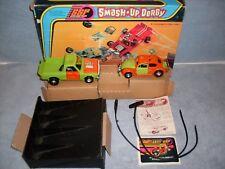 1974 Kenner SSP Smash Up Derby Orange & Lime Green Set Complete In Box HTF