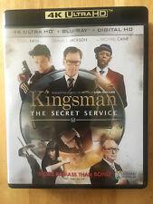 KINGSMAN THE SECRET SERVICE  4K UHD + Blu ray
