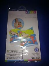 Intex Arm Band Swimming Floaties Mermaid Design Ages 3-6 New