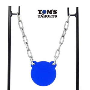 Hardox AR500 Steel Shooting Target Gong 10mm Plate With Stand