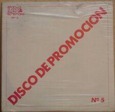 REX DISCO DE PROMOCION No 5 FEAT JULISSA / LA LOGIA SARABANDA PROMO SEALED LP