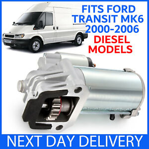 FITS FORD TRANSIT MK6 2.0 & 2.4 DIESEL MODELS 2000-2006 BRAND NEW STARTER MOTOR
