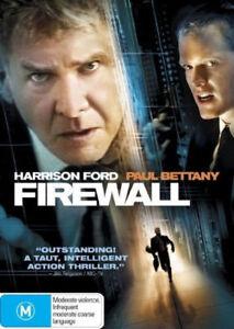 FIREWALL - DVD - 2006 Harrison Ford THRILLER MOVIE - Paul Bettany - REGION 4