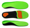 ERGOfoot Sports Gel Orthotic Insoles For Plantar Fasciitis,Arch Support and Foot