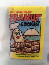 All American Peanut Cookin' Book featuring Rosalynn Carter recipes - softcover
