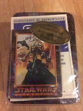 F3) Star Wars Dark Empire II Card Set Collector Autographed Dave Dorman New