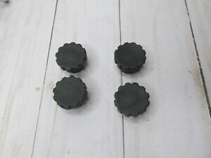 D AB Rocket Replacement Parts Black - Nuts - Fasteners - Knobs Set of 4 OEM