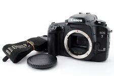 Canon EOS 7 (ELAN7E) 35mm SLR Film Camera Body w/ Strap [Exc+++] JAPAN 627650