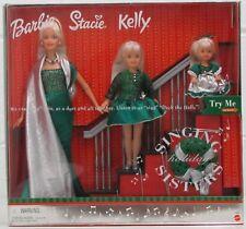 Holiday Singing Sisters Barbie Stacie & Kelly Doll Set (Sound Works) 26260 NRFB