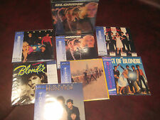 BLONDIE 7 LP REPLICA JAPAN OBI AUDIOPHILE CD BLONDIE OUTER SHELL COVER Box Set