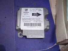 1998-2004 VAUXHALL ASTRA G MK4 AIRBAG ECU SENSOR 24416703 DL, FAST DISPATCH