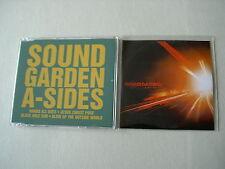SOUNDGARDEN job lot of 2 promo CDs Live On I-5 A-Sides Album Sampler