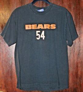 Reebok NFL Chicago Bears Urlacher T-shirt #54 Boys Girls Size XL Navy Orange