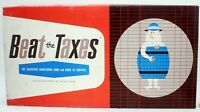 Vintage Board Game Beat The Taxes Obscure Rare Family 1964 Educational Finance