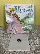 Vintage 1999 Pretty Pretty Princess Game Replacement Part Black Ring Game Piece