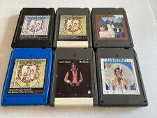 Lot of 6 8 Track Tapes Larry Gatlin. +