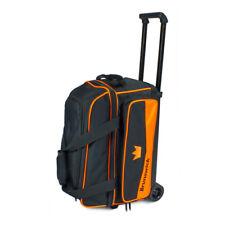 Brunswick Zone 2 Ball Double Roller Orange Bowling Bag