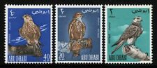 Abu Dhabi 1965 Lannerfalke Falken Vögel Falknerei 12-14 MNH / 398