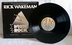 RICK WAKEMAN WHITE ROCK Soundtrack Yes VINYL LP RECORD ALBUM A&M AMLH64614 EX/EX