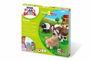 Fimo Kits For Kids Form & Play Polymer Modelling Oven Bake Clay - SET FARM