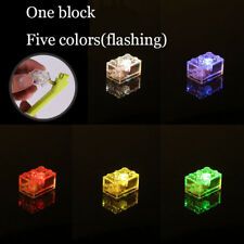 5 x LED LUNAR LIGHTS compatible with Lego Bricks Multicoloured FREE Techic AXLE!