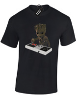 BABY GROOT BOMB MENS T SHIRT GUARDIANS STAR LORD OF THE GALAXY FAN TOP S-5XL