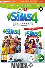 Los Sims 4 Plus - Perros y gatos bundle juego + expansión - PC MAC EA Origin