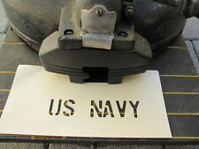 "Stencil Lackier Schablone US NAVY 3/4"" Jeep Dodge Marines Army USMC Vietnam WK2"