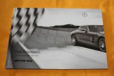 AMG Peak Performance Driving Academy 2010 2011 Prospekt Brochure Catalogue