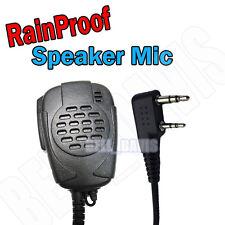 Rainproof Mic Speaker Wouxun KENWOOD KG-UVD1P KG-689
