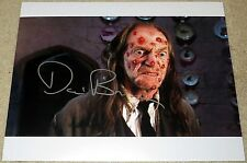 David Bradley Signed 11x14 Harry Potter Half Blood Prince Argus Exact Proof