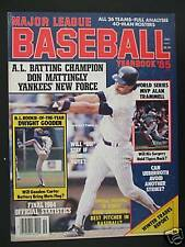 1985 Major League Baseball Yearbook-New York Yankees Don Mattingly