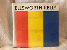 ELLSWORTH KELLY COPLANS ABRAMS 1971 SCARCE IN DJ!
