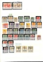 [OP6201] Worldwide lot of Stamps on 12 Pages - see photos on description