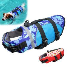 Life Jackets for Dogs Medium Large Preserver Neoprene Safety Vest for Swimming