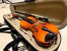 Suzuki 280 1/8 Violin, 1985, made in Japan with Suzuki case and Suzuki bow